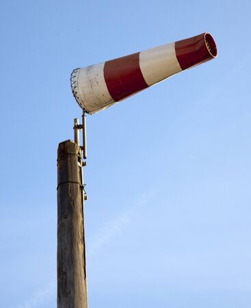 windsock on the beache photo