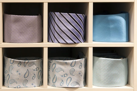 neck ties in a shop Stock Photo - 9284560