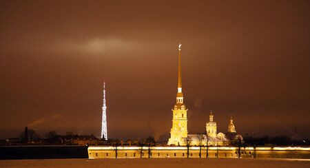 night over st  petersburg