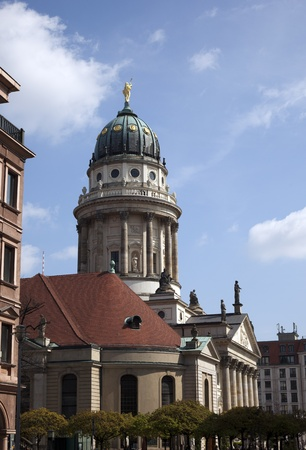 One of the most beautiful squares in Berlin, the Gendarmenmarkt, photo