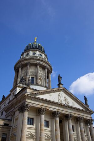 One of the most beautiful squares in Berlin, the Gendarmenmarkt, Stock Photo - 13614914