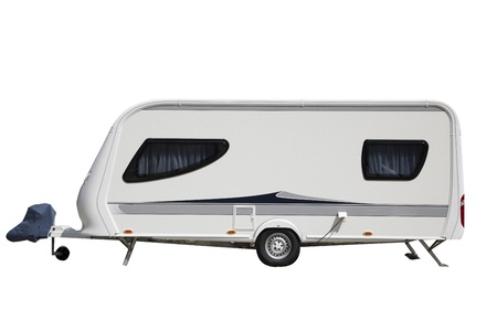 isolated caravan