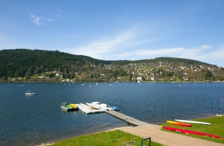lac: lake in the Vogsges France