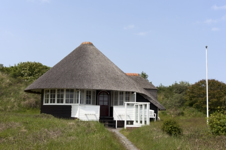 thatched house: house with straw roof