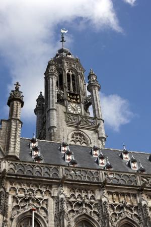 cityhall: cityhall of middelburg the neterlands Stock Photo
