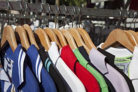 t-shirts on the market Stock Photo - 16186613