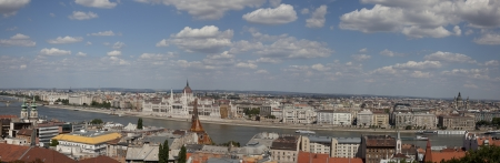 view over budapest, hungary
