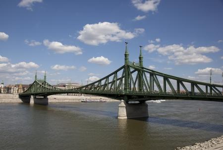 bridge in budapest Reklamní fotografie