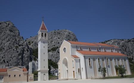 church in omis Reklamní fotografie