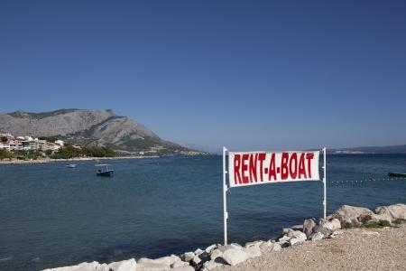 rent a boat flag