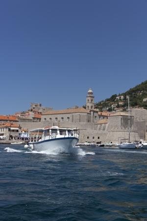 old harbour of dubrovnik Reklamní fotografie
