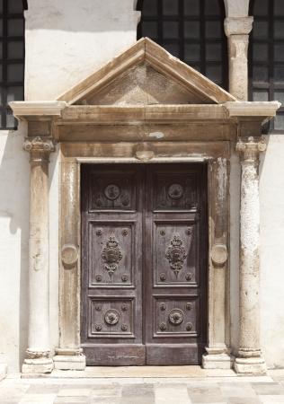 old door in dubrovnik Reklamní fotografie