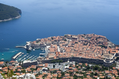 The Old Town of Dubrovnik, Croatia Reklamní fotografie - 23937863