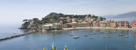 panorama picture of sestri-levante Reklamní fotografie
