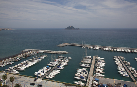 Marina Di San Lorenzo from above