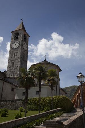Chiesa di Santi Gervasio e Protasio -- Baveno's Parish Church Reklamní fotografie