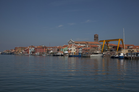 view over pallestrina, nearby venice
