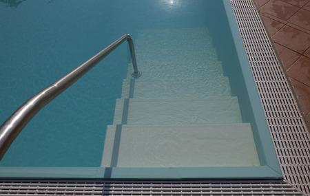 swimming pool in detail