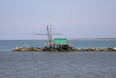 fishing hut in italy