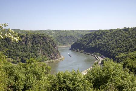 Magnificent Rhine valley Reklamní fotografie
