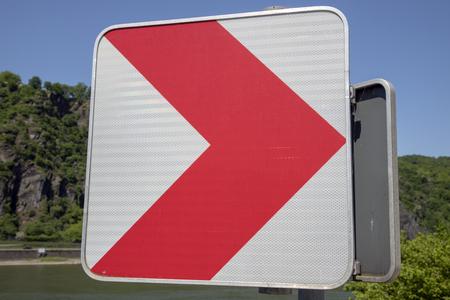 red sign Reklamní fotografie