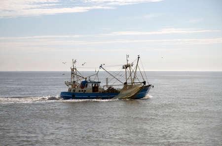Fishing vessel is fishing in the North Sea Reklamní fotografie