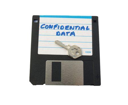 labelled: Floppy disk labelled