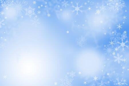 winter wallpaper: Fondos de escritorio de la luz azul de invierno con la nieve