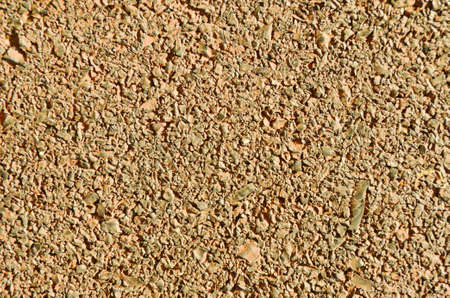 grained: Brown grained background on road Stock Photo