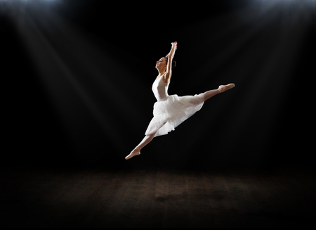 Young ballerina (in theater version)