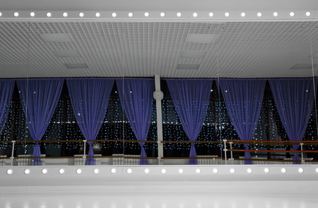 Training hall for balet exercises Foto de archivo - 112151136