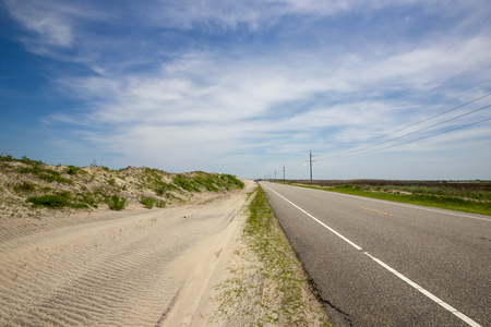 sand dunes: Sand Dunes along Highway