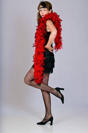 Roaring twenties style dress Stock fotó
