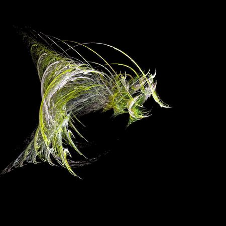 Deep sea creature rendered with fractals Stock Photo - 4129915