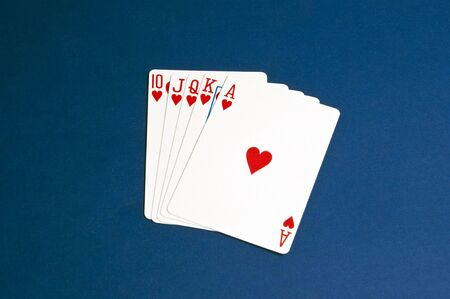 High card hand, straight royal flush