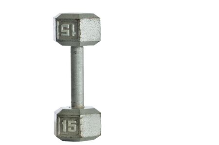 Barbell isolated  Stock fotó
