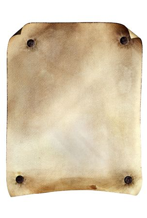 Grunge weathered parchment made to resemble an old wanted poster from the old west.