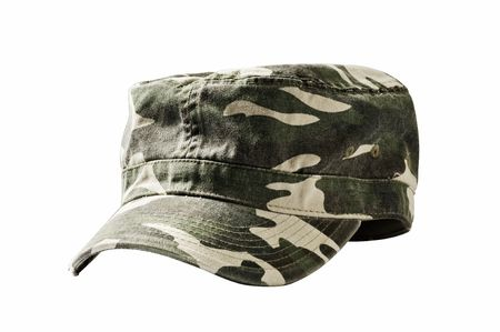 Camouflage cap used by armies around the world to help provide concealment from enemies.  Stock Photo - 6629366
