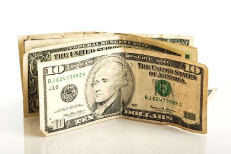 Small amount of American money