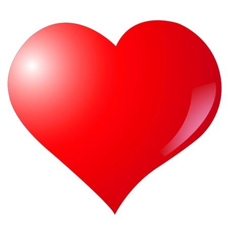 Gradient filled Valentine Heart