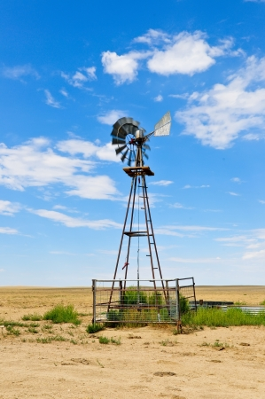 Windmill In Southern Colorado Stock Photo - 14838169