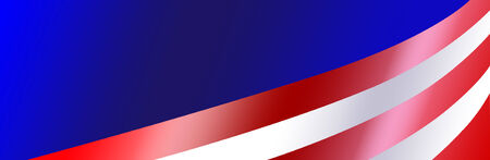 Bumper sticker background with gradient colorss for a patriotic USA event.