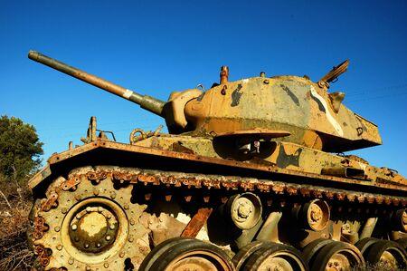 world war two: World war two german military tank, Greece Stock Photo