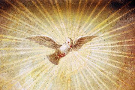 cristian: A religious renaissance italian painting Stock Photo