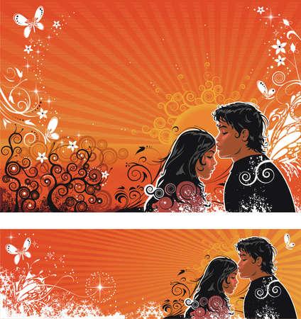 stylish couple: Valentine Day