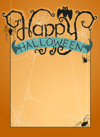 Happy Halloween background Stock Vector - 23015242