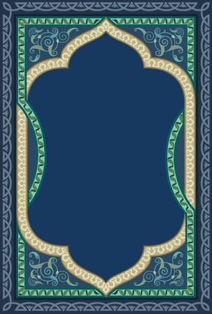 ottoman: Islamic decorative art in high quality details Illustration