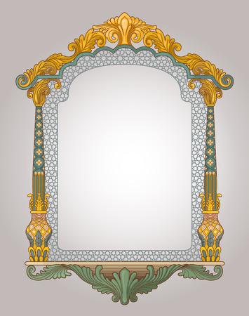 Vector illustration du cadre décoratif