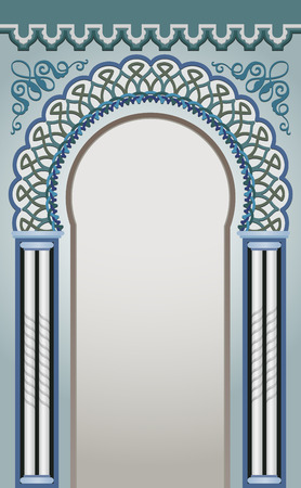 frontage: Vector Illustration of Decorative Arc - eps 10