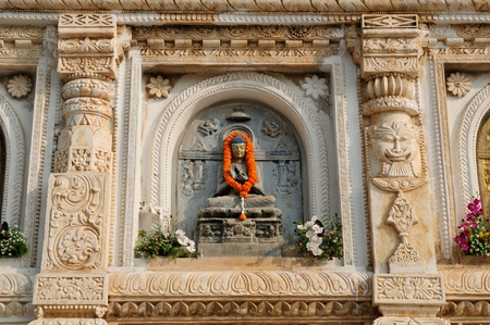 Mahabodhy Temple in Bodhgaya, Bihar, India.  Stock Photo - 11808600